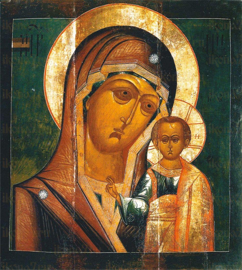 Икона Казанская Божия Матерь