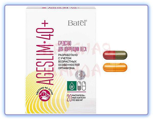 Средство для коррекции веса AgeSlim 40+ Batel