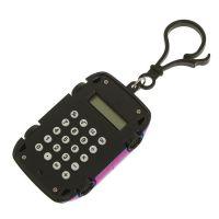Калькулятор Брелок 8-разрядный Машинка (цвет розовый)_2
