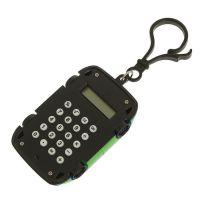 Калькулятор Брелок 8-разрядный Машинка (цвет зеленый)_2