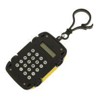 Калькулятор Брелок 8-разрядный Машинка (цвет желтый)_2