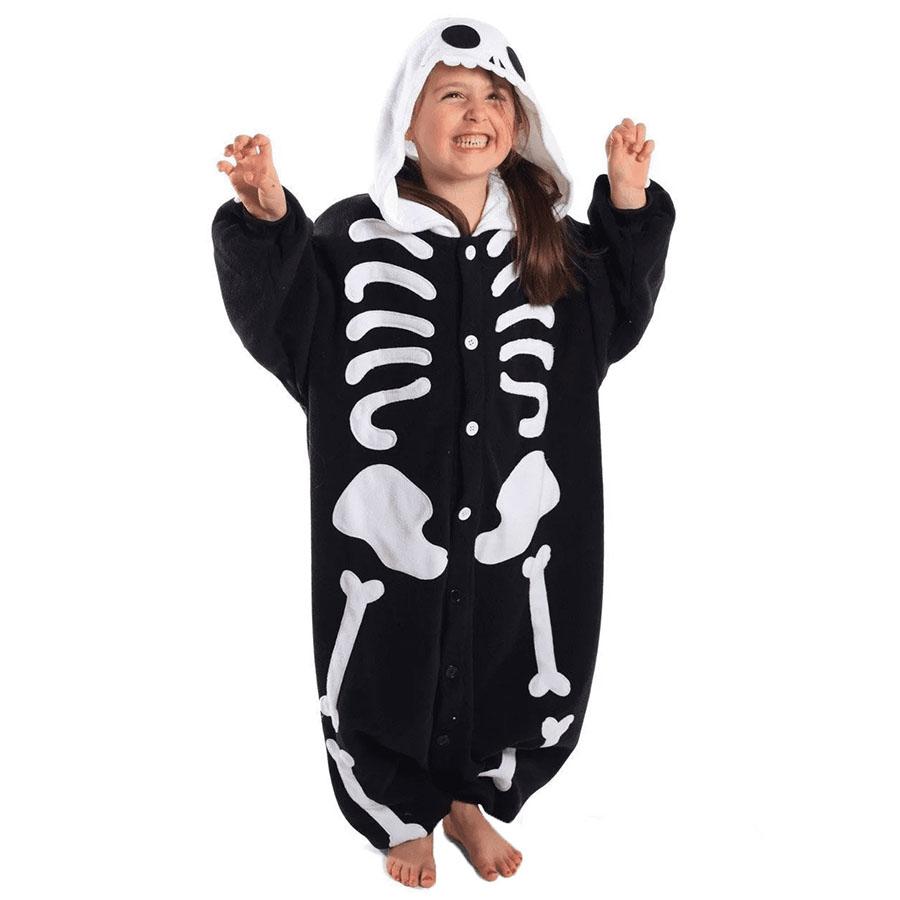 Детская Пижама Кигуруми Скелет