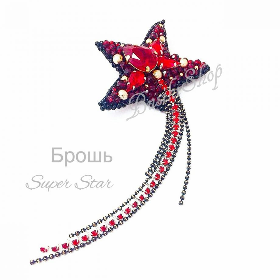 "Брошь ""Super Star"""