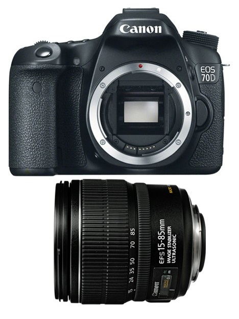 Canon EOS 70D Kit EF-S 15-85mm f/3.5-5.6 IS USM