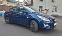 Hyundai Solaris 2016 г. Автомат (синий)