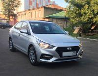 Hyundai Solaris 2017 г. Автомат (серебристый)