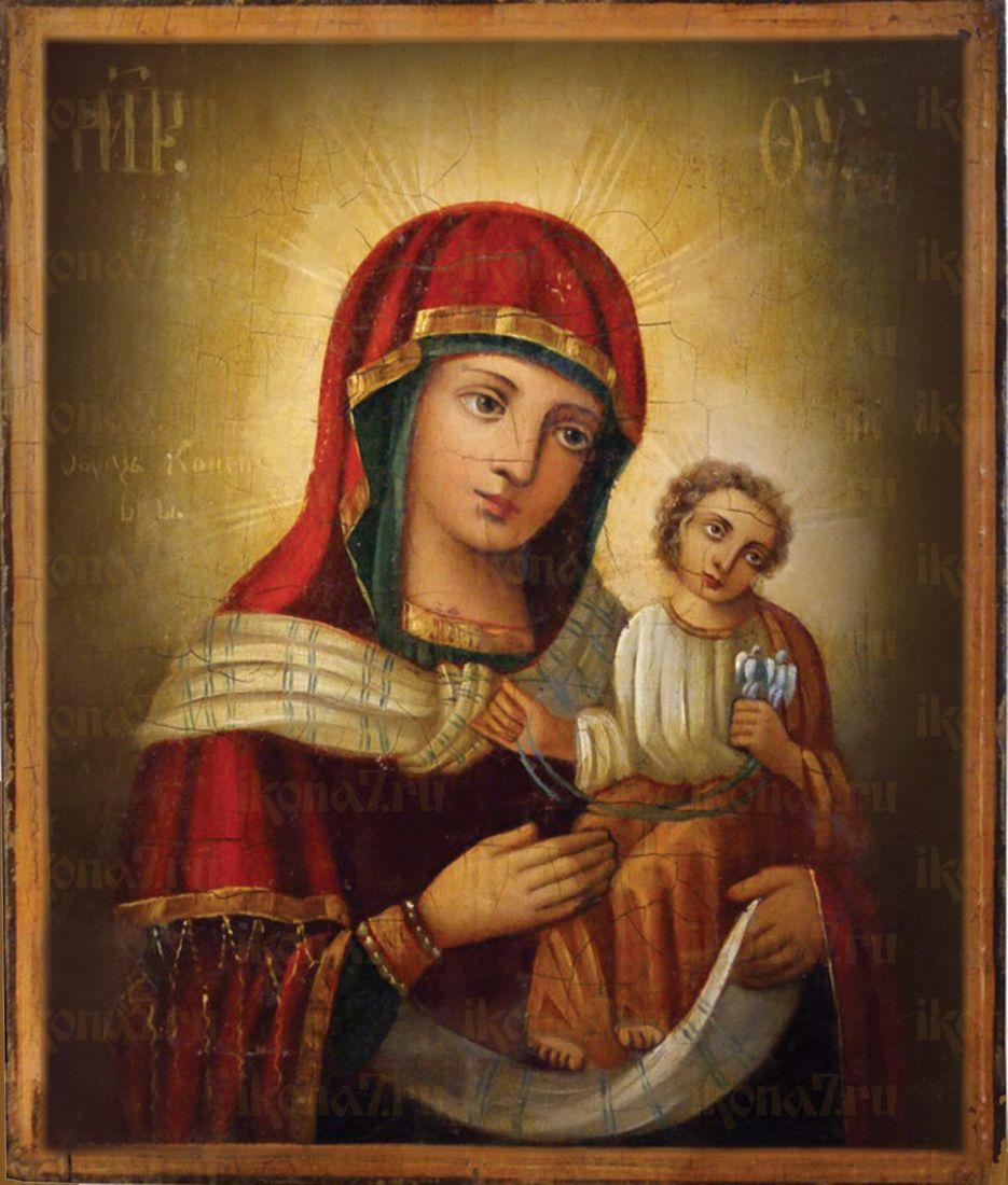 Икона Коневская (Голубицкая) Божия Матерь