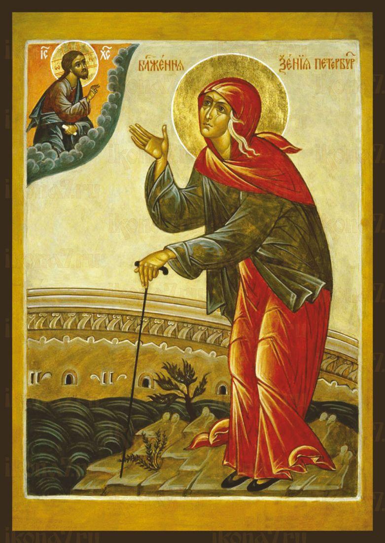 Икона Ксения Петербургская (копия старинной)