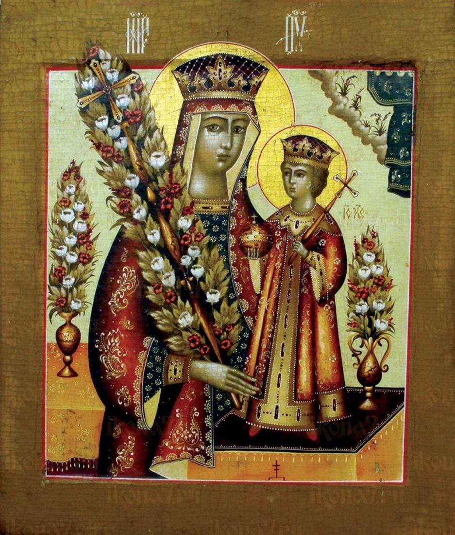 Неувядаемый Цвет икона Божией Матери (19 век)