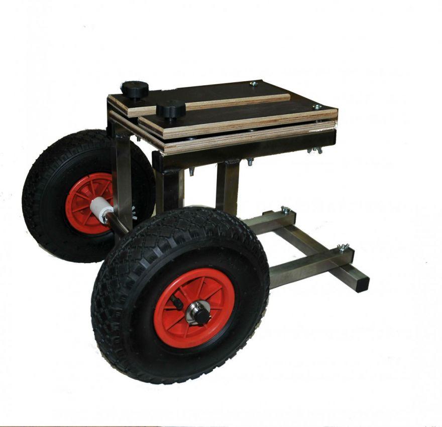 Тележка для мотора до 15 лс подпружиненная