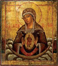 Икона Помощница в родах