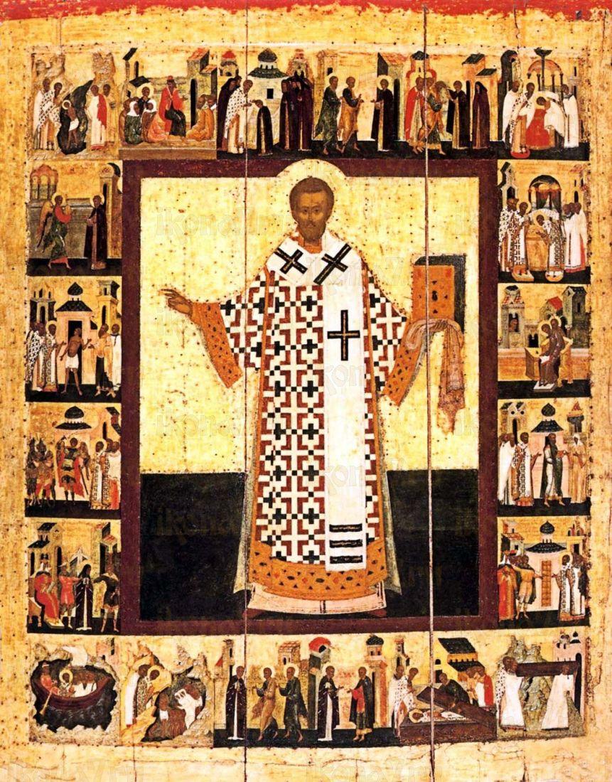 Икона Иоанн Златоуст