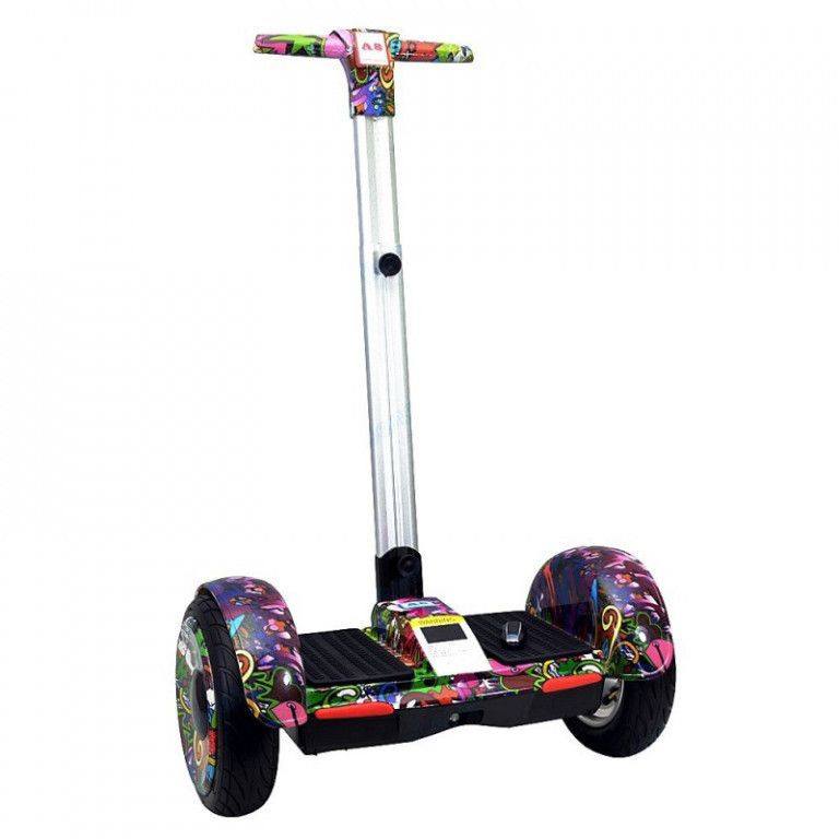 Сегвей Smart Balance A8 New 10,5 Граффити Сиреневый