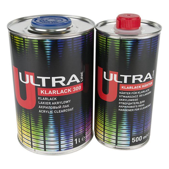 NOVOL Лак ULTRA KLARLACK 300 (комплект),  объем 1л. + 500мл.