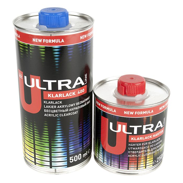 NOVOL Лак ULTRA KLARLACK 400SR (комплект), объем 500мл. +250мл.