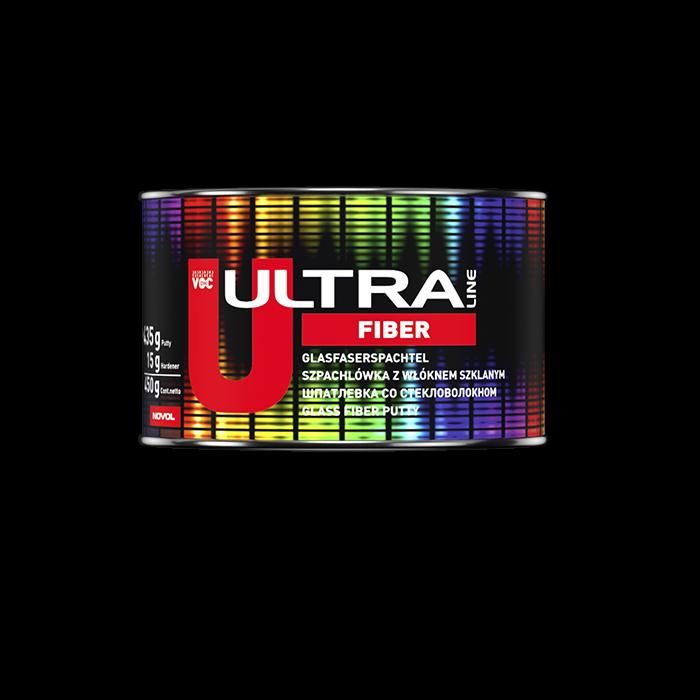 NOVOL Шпатлевка ULTRA FIBER со стекловолокном, объем 450гр.