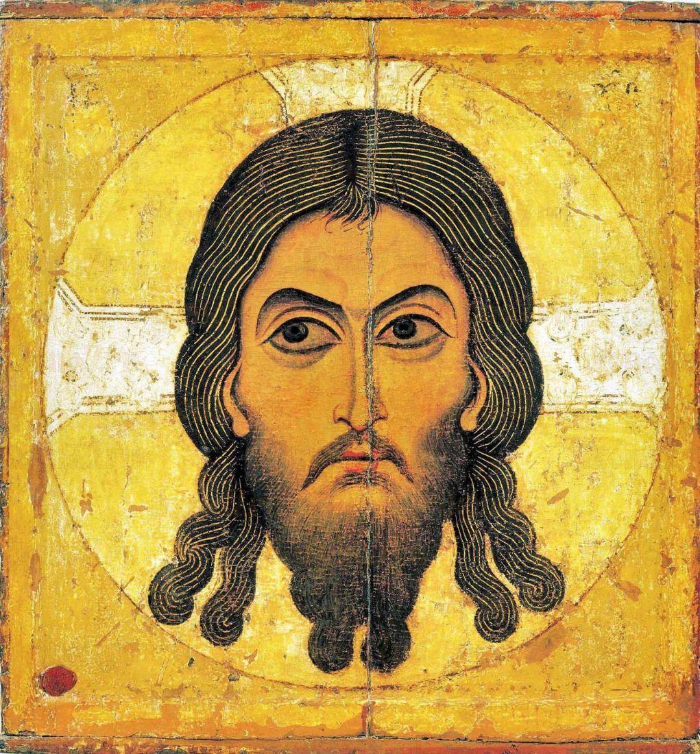 Икона Спас Нерукотворный (12 век)