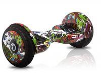 Гироскутер iBalance Prem Series 10.5 Фиолетовый граффити Самобаланс+ Приложение