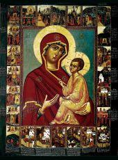 Икона Тихвинская Божия Матерь