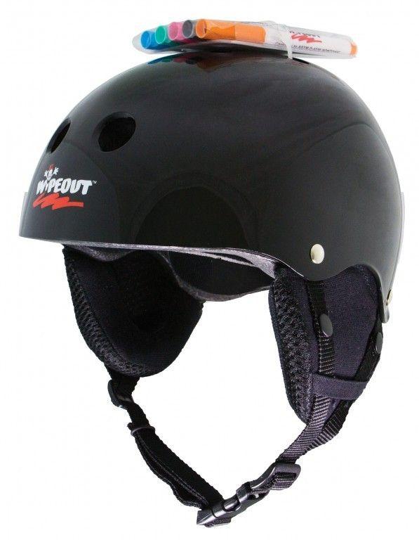 Зимний шлем с фломастерами Wipeout Black Черный