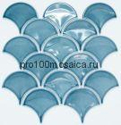R-319. Мозаика чешуйки  серия RUSTIC, размер, мм: 259*273*5 (NS Mosaic)