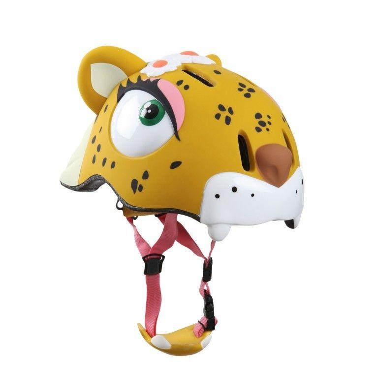 Шлем Yellow Leopard Crazy Safety (Леопард)