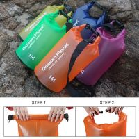Водонепроницаемый мешок-рюкзак Ocean Pack Outdoor Sport 10 л_1