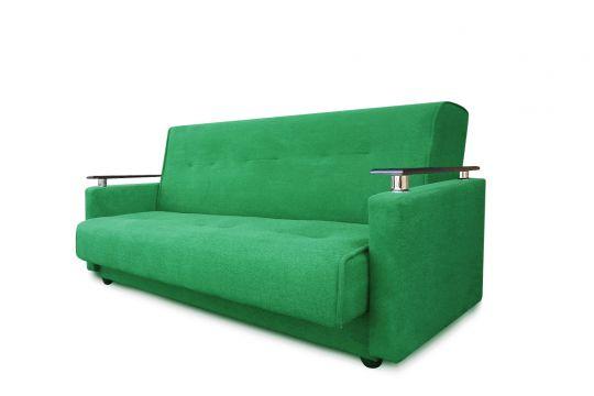 Диван-книжка Милан люкс зеленый