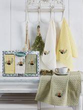 Комплект вафельных полотенец BELDI (45*65)*3  Арт.3479-2