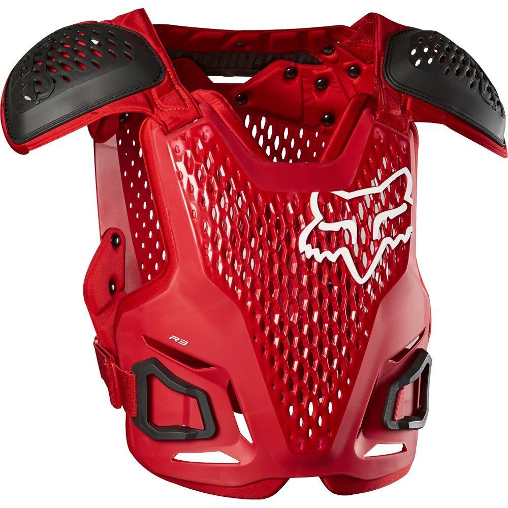 Fox R3 Guard Flame Red жилет защитный, красный