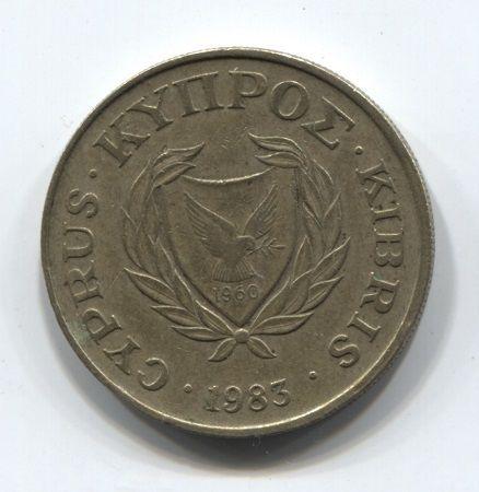 10 центов 1983 года Кипр