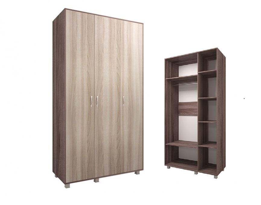 Шкаф трехдверный М1 Доминик