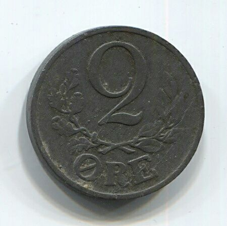 2 эре 1942 года  Дания