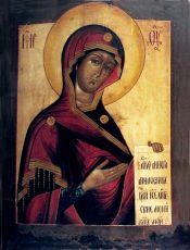 Икона Боголюбская Божия Матерь