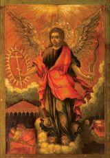 Икона Ангел Хранитель (17 век)
