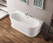 Ванна акриловая отдельностоящая BELBAGNO 150x80 BB408-1500-800