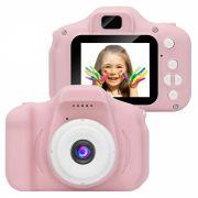 Детский фотоаппарат Kids Camera Сube (BC20 розовый) №614