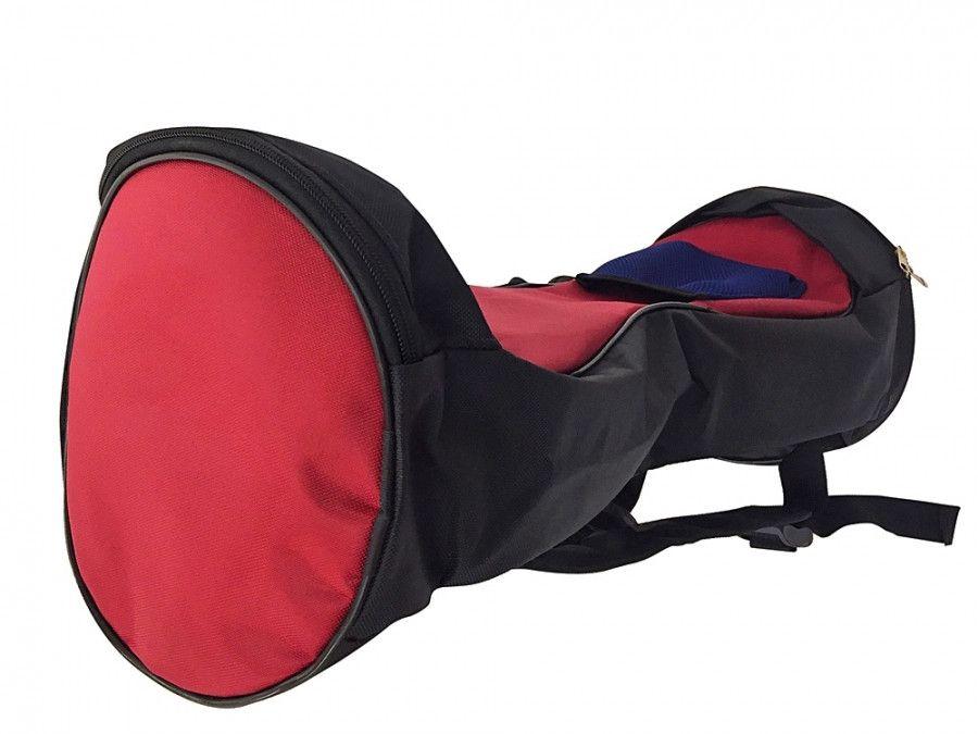 Сумка-рюкзак Smart Balance черно-бордовая для гироскутера 10 и 10.5 дюймов