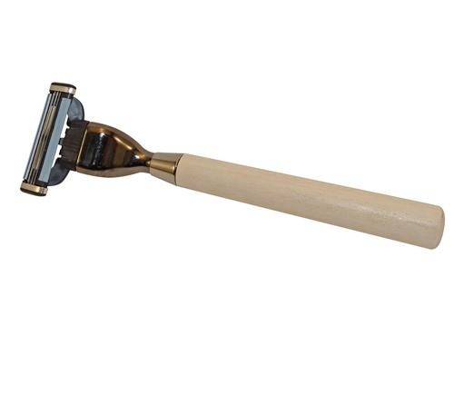 Omega станок сувенирный для кассет Mach3 с деревянной ручкой