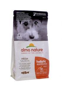 Almo Nature Для Взрослых собак Малых пород с Лососем