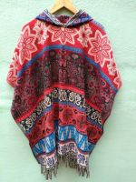 Пончо с этническим узором, купить в СПб, интернет магазин