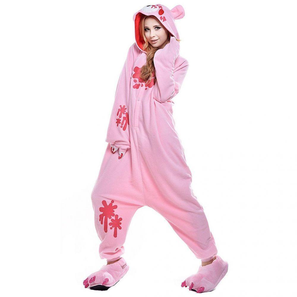Пижама Кигуруми Мрачный Медведь Розовый Премиум