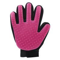 Перчатка Для Вычёсывания Шерсти True Touch, Цвет Фиолетовый