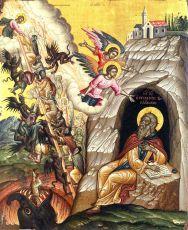 Икона Иоанн Лествичник преподобный