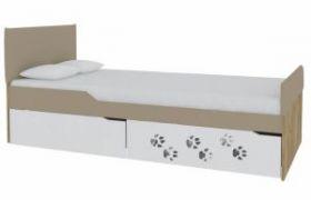 Кровать с мягким элементом Хаски № 3