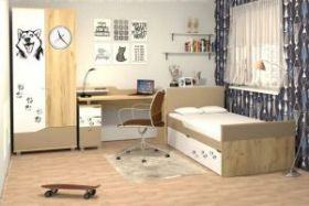 Спальня подростковая Хаски Компоновка 1