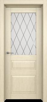 Межкомнатная дверь L 8 стекло Рим