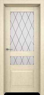 Межкомнатная дверь L 9 стекло Рим