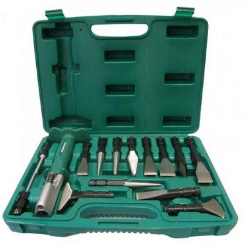 AG010143 Многофункциональный инструмент со сменными зубилами и выколотками