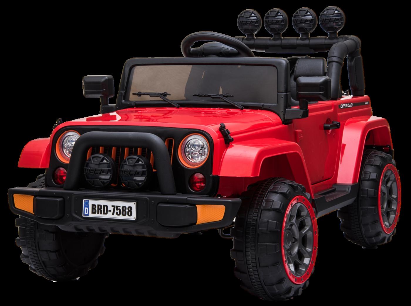 Детский электромобиль (2020) 7588 (12V) Красный